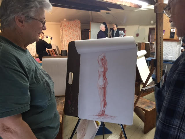 Life Drawing Workshop Session II March 3 - April 7
